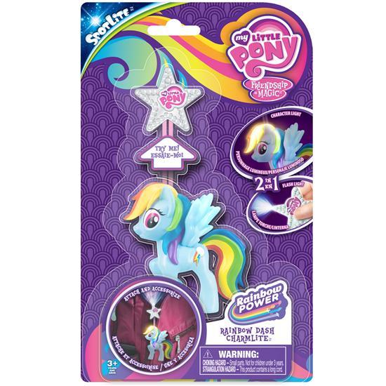 MLP Spot Lite Charm Lite Rainbow Dash Packaging Rainbow Power