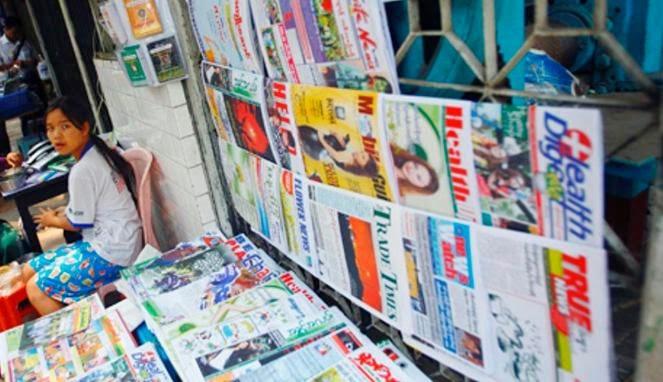 usaha kios koran dan majalah