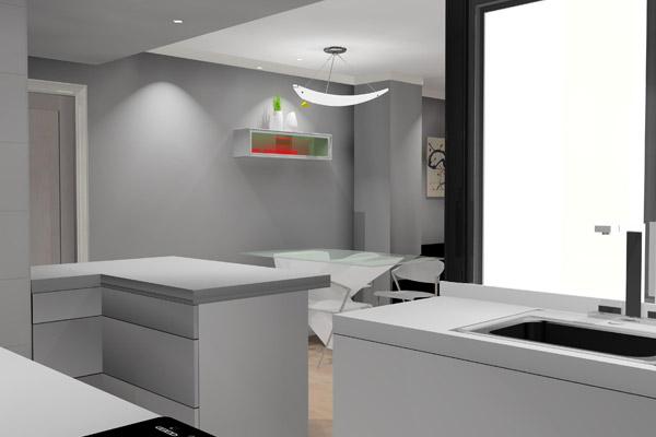 Proyectos en 3D para cocinas