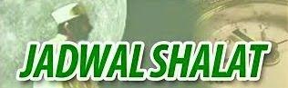 JADWAL SHOLAT