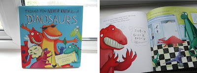 Things You Never Knew About Dinosaurs, children humour book, KS1 book