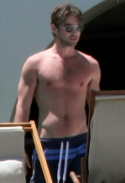 Chace Crawford shirtless