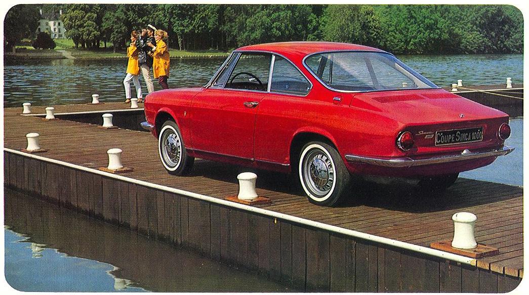 Ruote rugginose 1962 simca 1000 coupe - Simca 1000 coupe bertone occasion ...