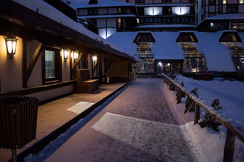 Skijašnica i prolaz do Granda