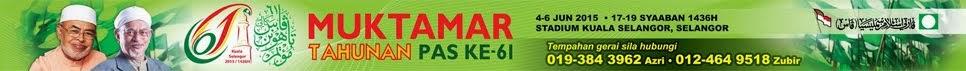 MUKTAMAR TAHUNAN PAS KALI KE-61