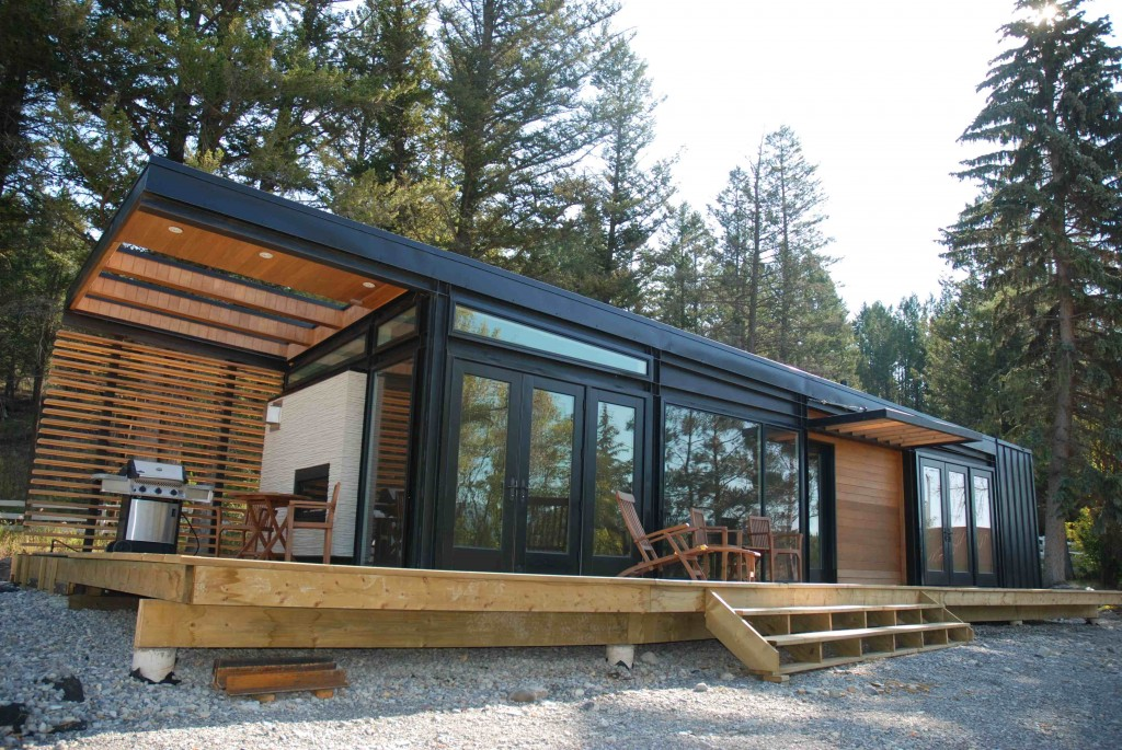 Prairie perch karoleena modern modular homes for Modular cabins and cottages