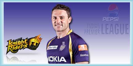 IPL KKR Squad Brendon McCullum IPL Profile and Brendon McCullum IPL Records with IPL Wallpapers