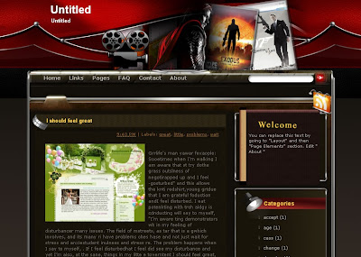 untitled movie template free blogger