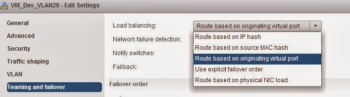 vSphere Distributed Switch Part 19 - Understanding vSwitch Network Load Balancing policies