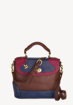 ModCloth Set the Tri-Tone Bag