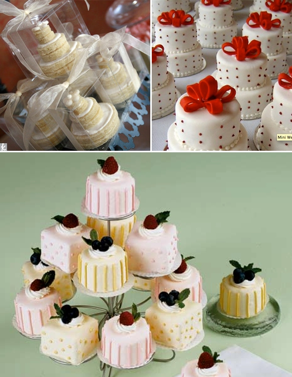 Let Them Eat Cake At Your Wedding DIY Individual Wedding Cakes For Your Guests