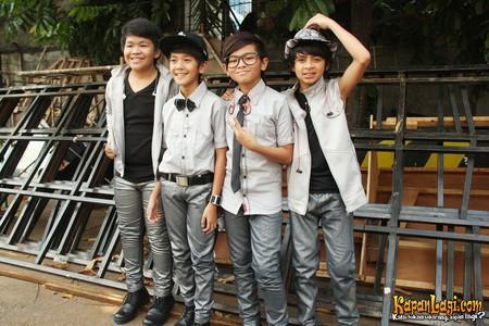 Boyband yang digawangi Iqbal, Bastian, Aldi dan Rizky baru-baru ini