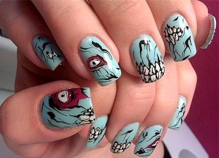Halloween Stickers Nails