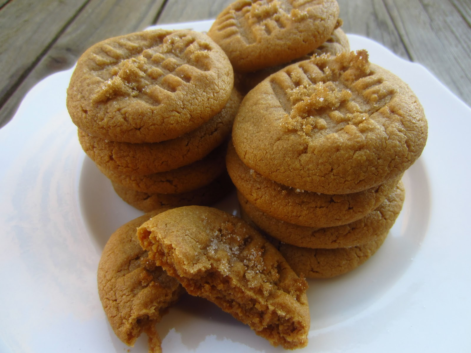 Recipe for flourless peanut butter cookies