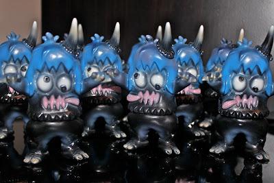 Splurrt x Rampage Toys Uglier Unicorn Vinyl Figures