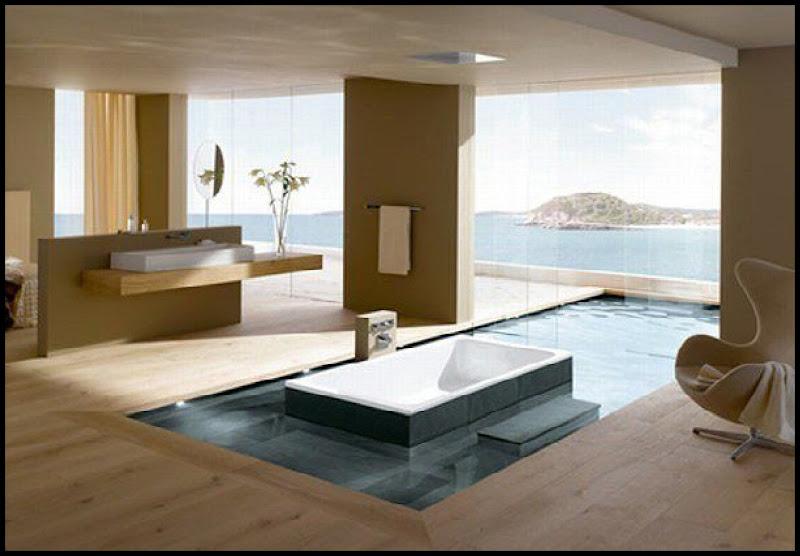 Diseño únicos y modernos: Spa bañera de ambiente romántico en el  title=
