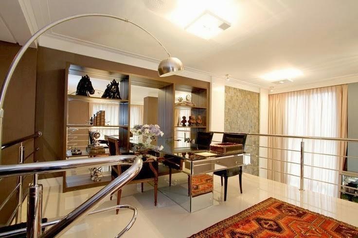 Mezanino Com Sala De Tv ~  de decoração!  Decor Salteado  Blog de Decoração e Arquitetura