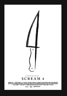 Scream 4 - Póster Minimalista