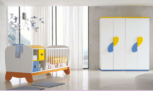 DORMITORIO INFANTIL DE BEBE A PRIMERA INFANCIA