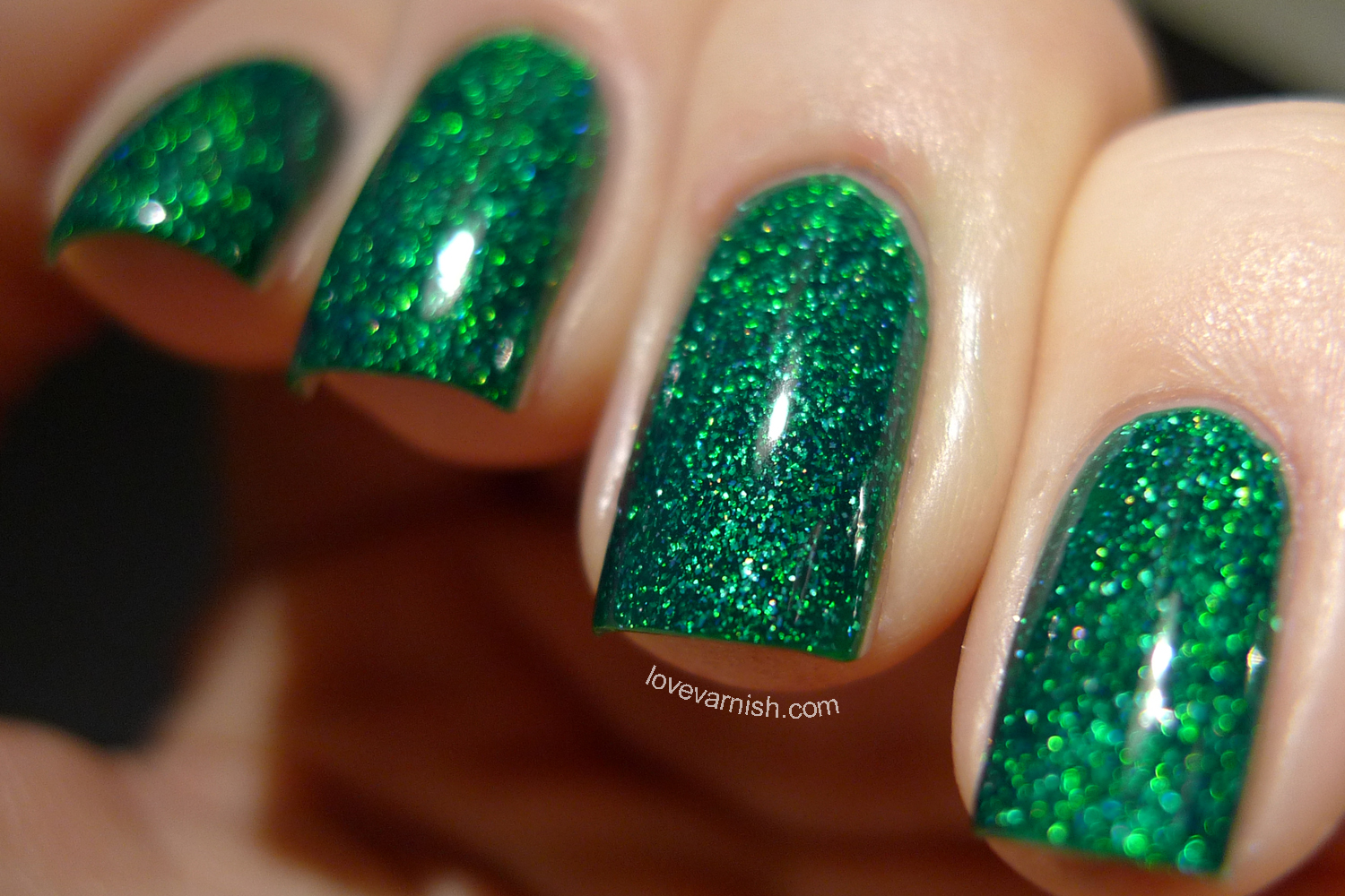 Dance Legend Wow Prism Strutter green chunky holo