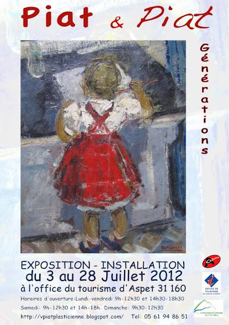 Exposition juillet 2012