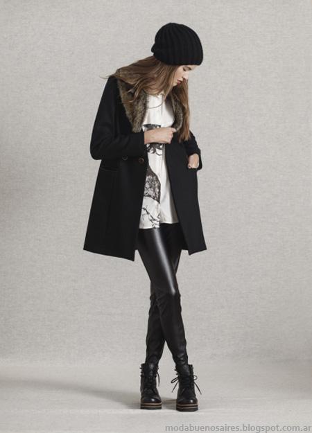 Looks moda invierno 2013 coleccion Leandro Dominguez