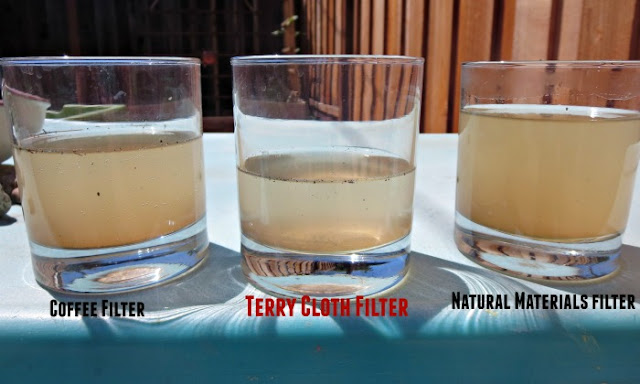 How to Make a Natural Water Filter