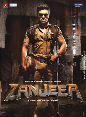 Ramcharan Zanjeer poster