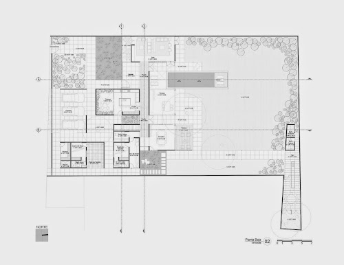 Montebello 321 by Jorge Bolio Arquitectura
