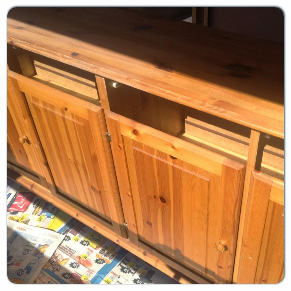 la parenth se lifestyle diy do it yourself customiser un buffet en bois. Black Bedroom Furniture Sets. Home Design Ideas