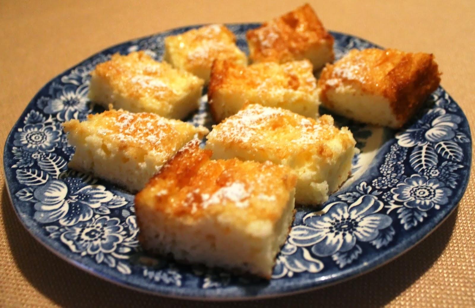easy 2 ingredient lemon bars recipe