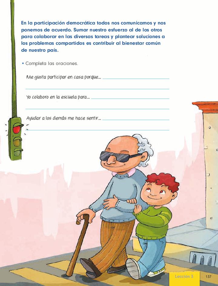 Mi trabajo con los demás cívica y ética 2do bloque 5/2014-2015