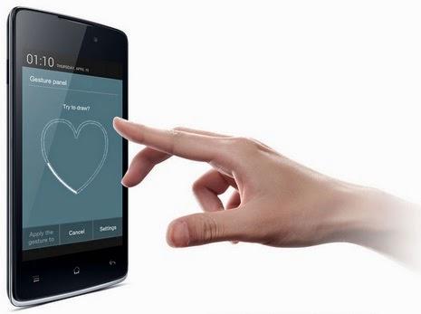 OPPO Joy Android Murah dengan Gesture Panel