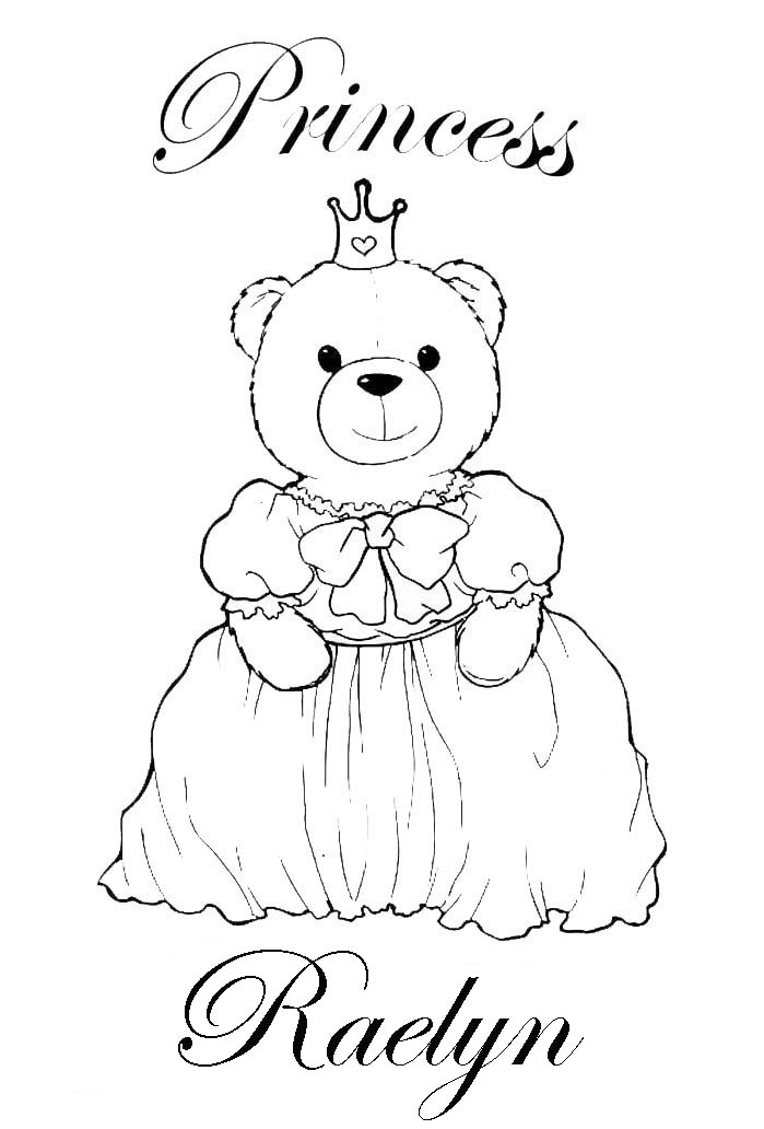 PRINCESS COLORING PAGES COLORING