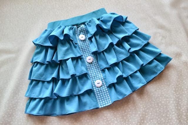 Самим сшит юбки для девочек 84
