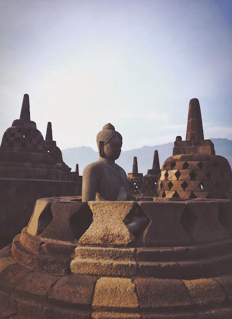 Borobudur Buddha Statues