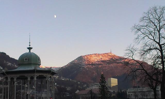 Mount Ulrike, Bergen