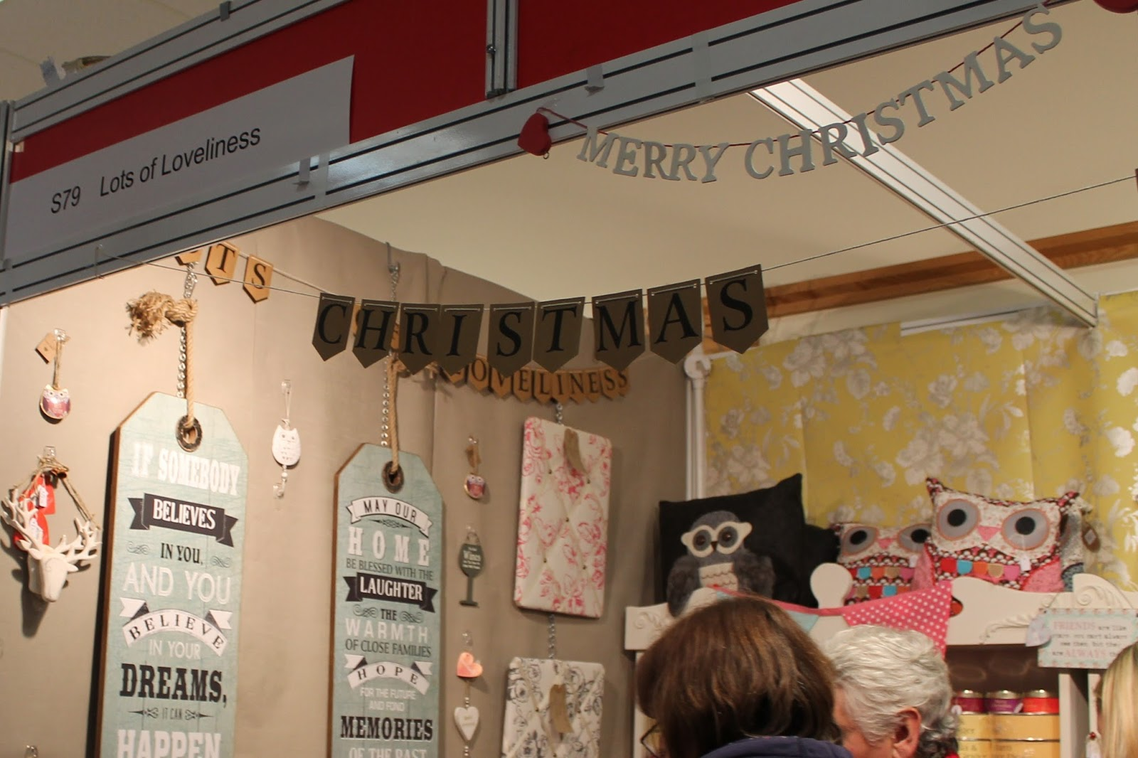 Living North Christmas Fair at Newcastle Racecourse - Lots of Loveliness
