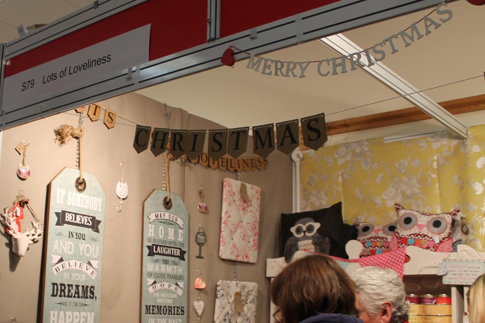 Living North Christmas Fair At Newcastle Racecourse