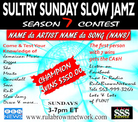 Name da Artist Name da Song Contest Starts Nov. 15th