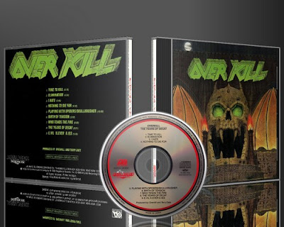 Overkill The Years Of Decay - Live In Europe