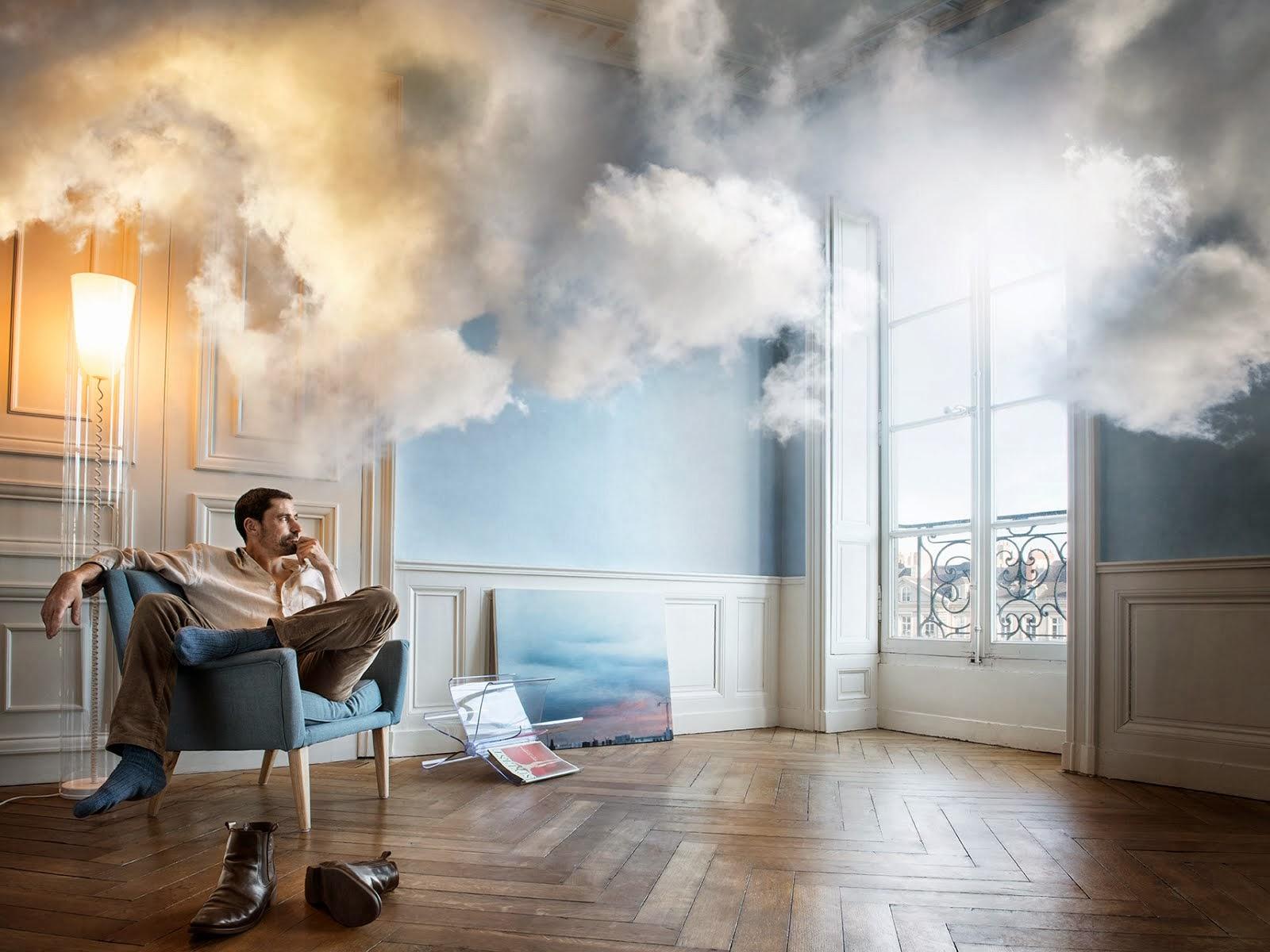 esthète dans les nuages