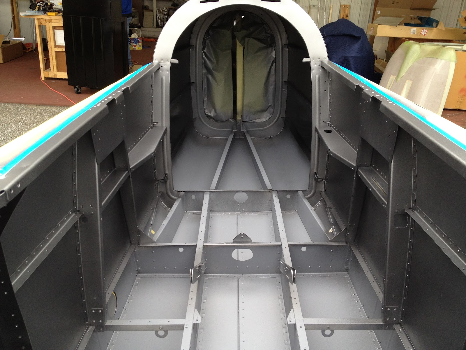 Mark 39 S Rv 8 Build Log N184mr Painting Fuselage Interior