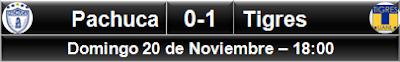 (6) Pachuca 0-1 Tigres (3)