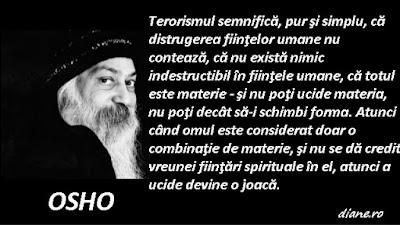 Osho despre terorism