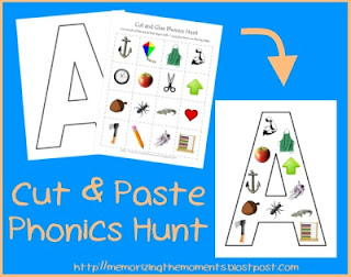 PreK and Kindergarten Phonics Activity