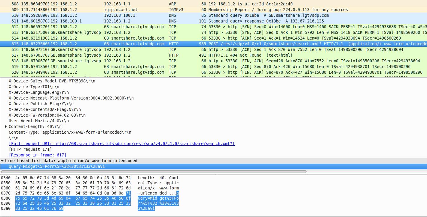 LG製のスマートTVがUSB内のファイル名と閲覧記録をこっそりサーバに送信していたことが判明