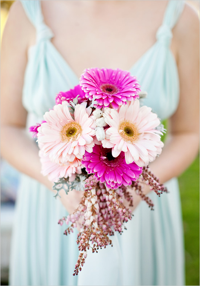 Bridal Bouquet Of Gerbera Daisies : Stunning wedding bouquets part belle the magazine