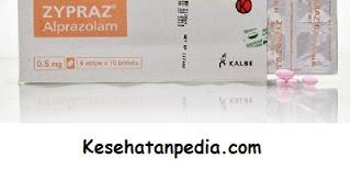 Obat Zypraz 0,5 mg untuk penyakit apa?
