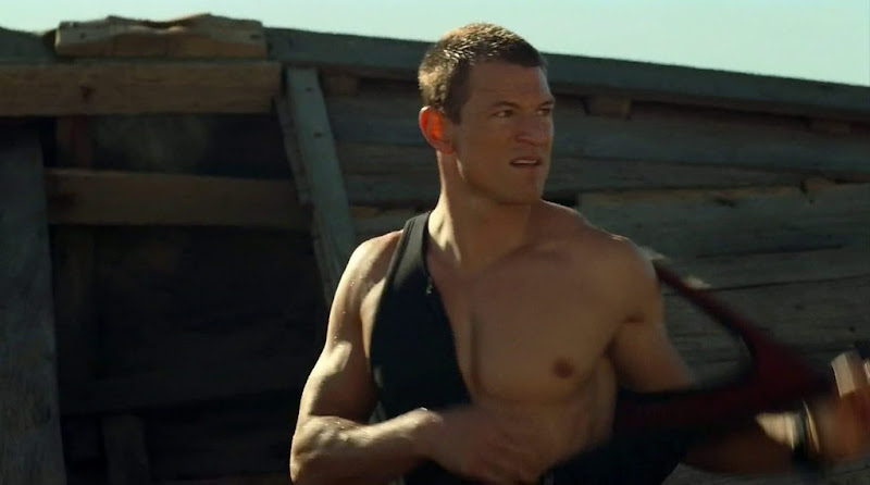 Philip Winchester Shirtless in Strike Back s2e01